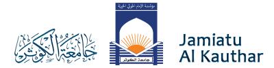 Jamiatu Al Kauthar Logo